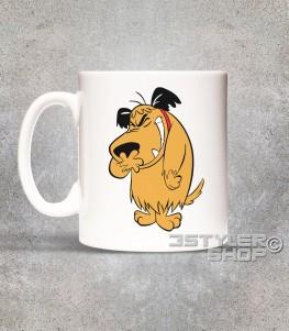 muttley tazza mug in ceramica raffigurante muttley che ride