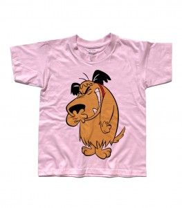 muttley t-shirt bambino con immagine al tutta altezza del cane che ride