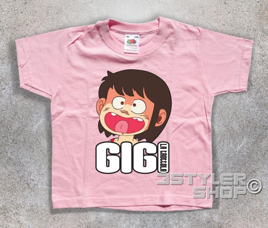 Gigi la trottola t shirt bambino