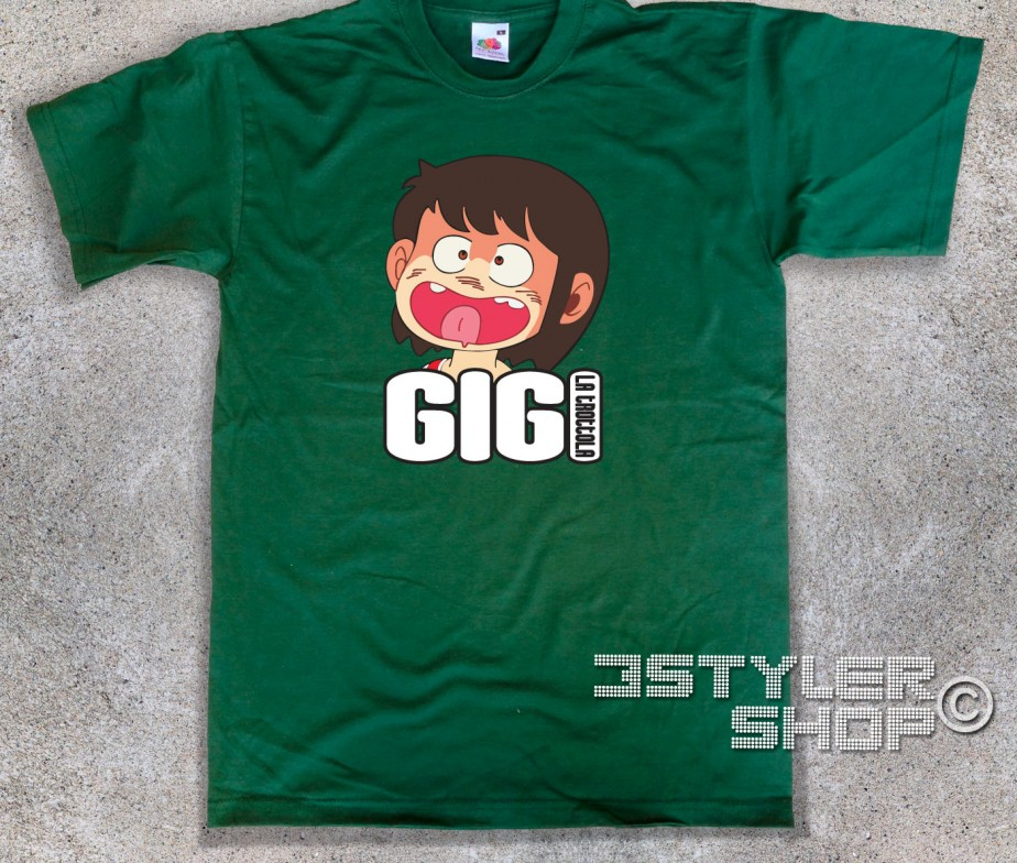 Gigi la trottola t shirt uomo