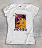muttley t-shirt donna con l'immagine di Muttley e scritta