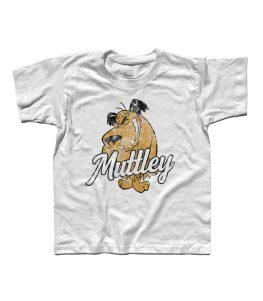 muttley t-shirt bambino con l'immagine di Muttley e scritta