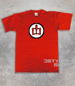 ralph t-shirt uomo raffigurante il logo di ralph supermaxieroe