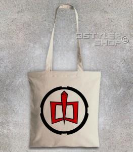 ralph borsa shopper raffigurante il logo di ralph supermaxieroe