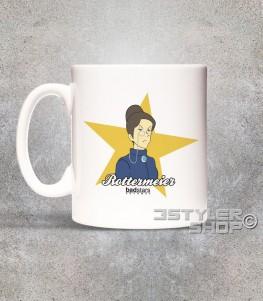 rottermeier tazza mug raffigurante la governante di Heidi Clara