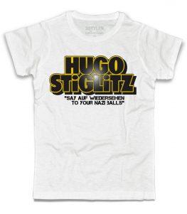 bastardi senza gloria t-shirt uomo con scritta hugo stiglitz