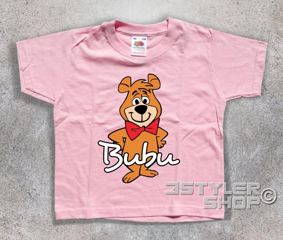 Bubu t shirt bambino lamico dellorso yoghi