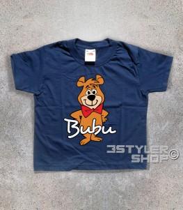 bubu t-shirt bambino raffigurante l'orsetto amico dell'orso Yoghi