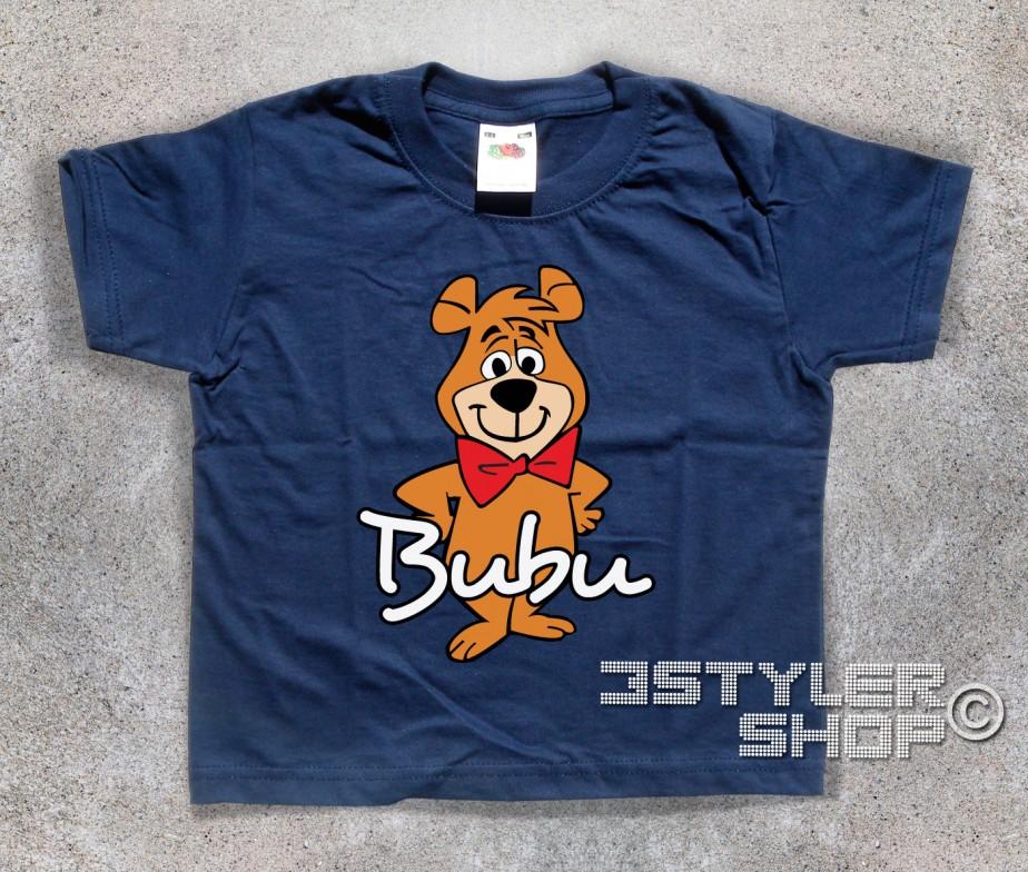 Bubu t shirt bambino l amico dell orso yoghi