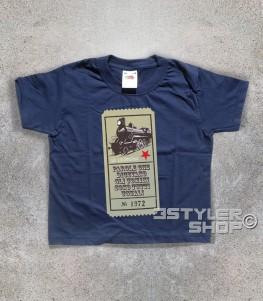 """Guccini t-shirt bambino con scritta """"parole che dicevano gli uomini sono tutti uguali"""" tratta dalla locomotiva"""