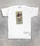 """Guccini t-shirt uomo con scritta """"parole che dicevano gli uomini sono tutti uguali"""" tratta dalla locomotiva"""