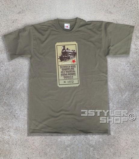 Guccini t-shirt uomo con scritta