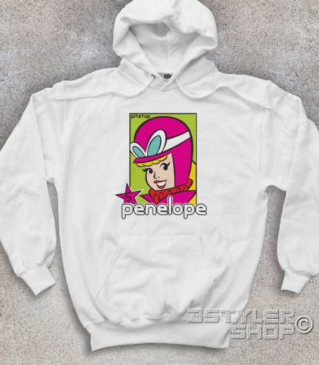 Penelope pitstop felpa unisex wacky races