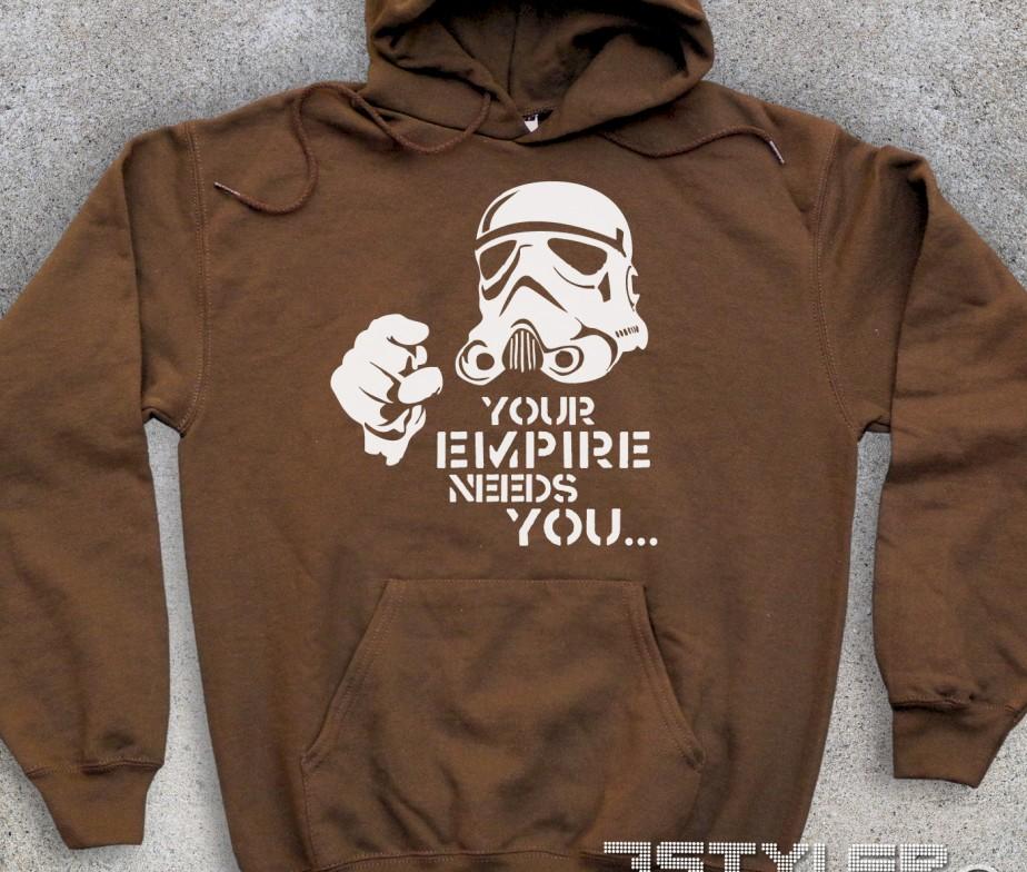 539e561b71 Star wars felpa unisex – Your empire