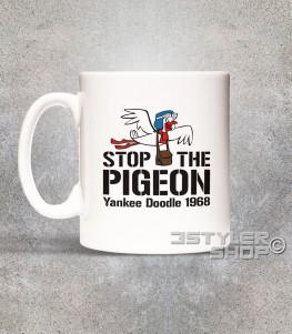 stop the pigeon tazza mug raffigurante il piccione yankee doodle