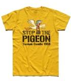 stop the pigeon t-shirt uomo raffigurante il piccione yankee doodle