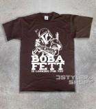 boba fett t-shirt uomo raffigurante il cacciatore di taglie di star wars