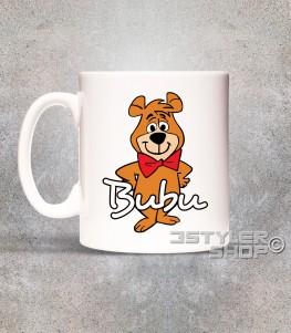 bubu tazza mug raffigurante l'orsetto amico dell'orso Yoghi