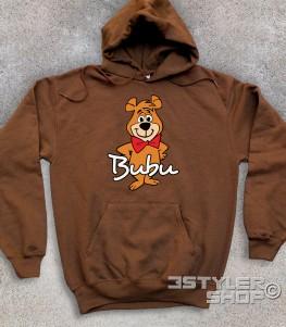 bubu felpa unisex raffigurante l'orsetto amico dell'orso Yoghi