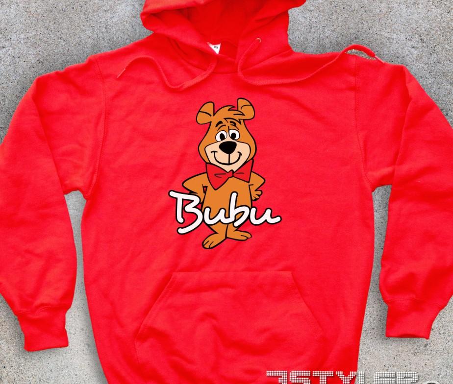 Bubu felpa unisex l amico dell orso yoghi