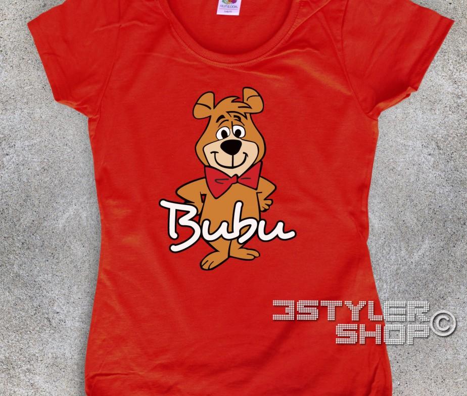 Bubu t shirt donna l amico dell orso yoghi