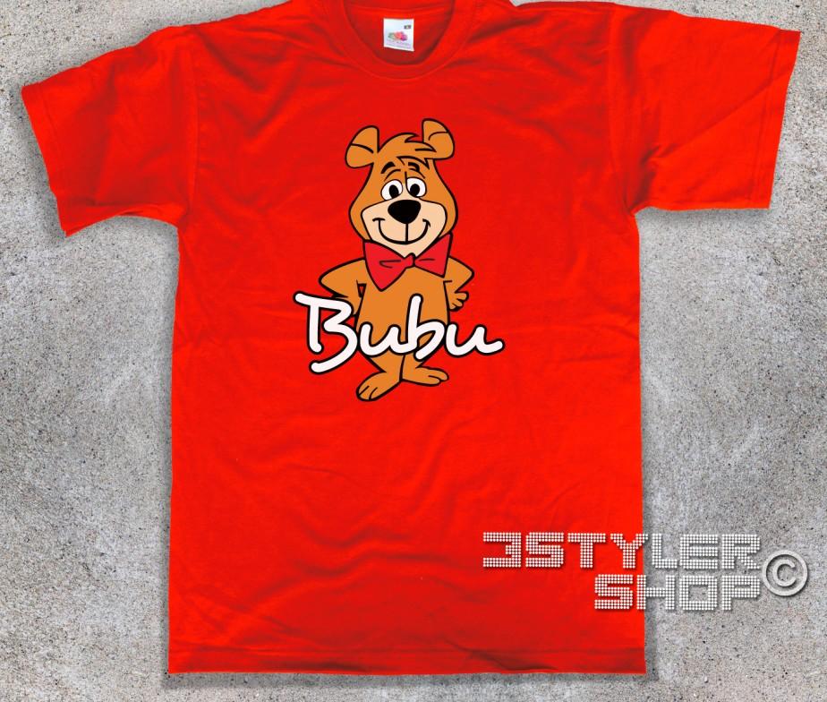 Bubu t shirt uomo l amico dell orso yoghi