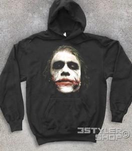 joker felpa unisex raffigurante il joker del Cavaliere Oscuro batman