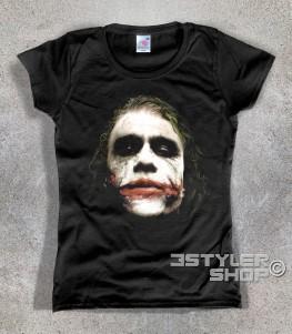joker t-shirt donna batman