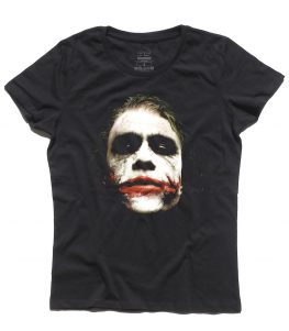 joker t-shirt donna il cavaliere oscuro