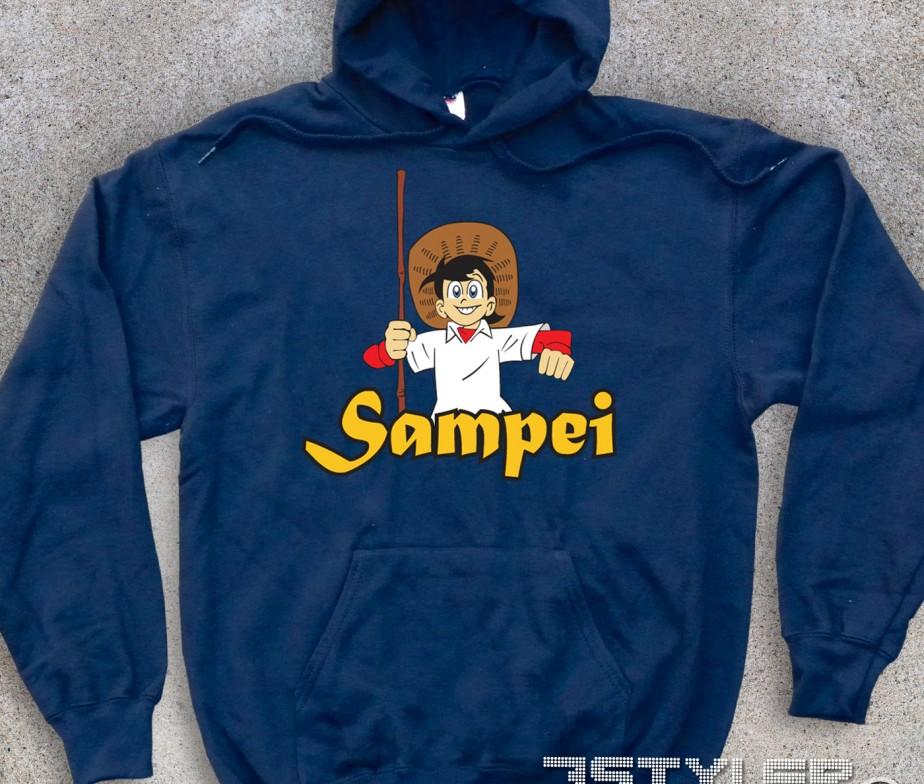 Sampei felpa unisex il pescatore