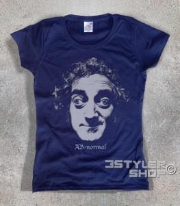 Marty Feldman t-shirt donna con scritta ab normal