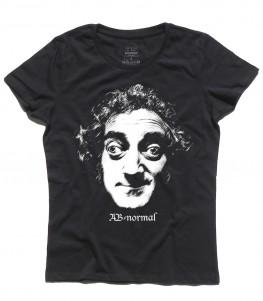 Marty Feldman shirt donna con scritta ab normal