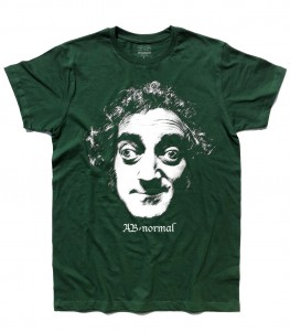 Marty Feldman shirt uomo con scritta ab normal