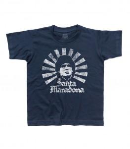 Santa Maradona t-shirt bambino D10S