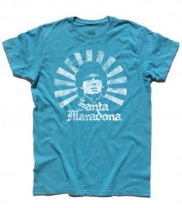 Santa Maradona t-shirt uomo D10S