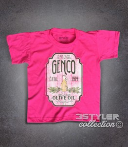 genco t-shirt bambino ispirata alla trilogia il padrino - the godfather