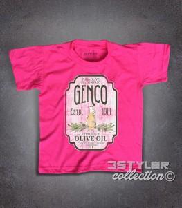 genco t-shirt bambino ispirata alla trilogia il padrino - the godfather
