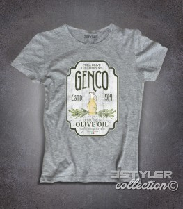 genco t-shirt donna ispirata alla trilogia il padrino - the godfather