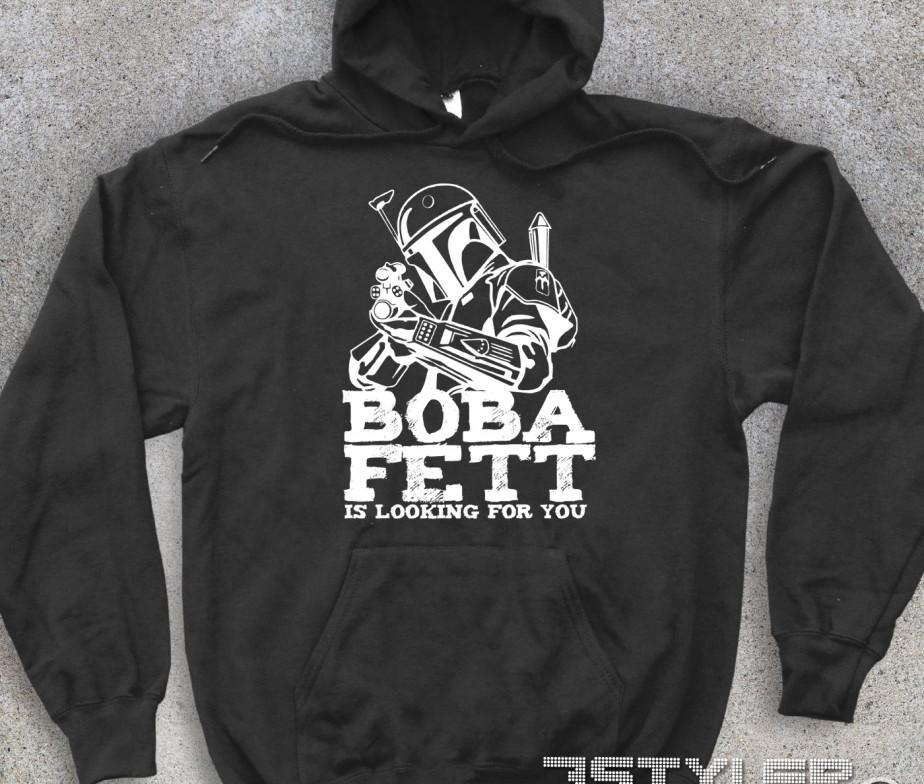 34ac4af273 Boba Fett felpa unisex – Star Wars