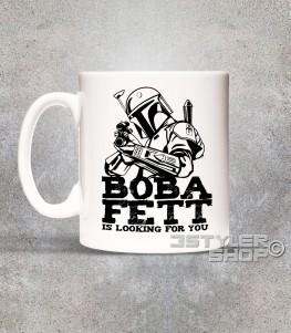 boba fett tazza mug raffigurante il cacciatore di taglie di star wars