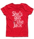 she's got the jack t-shirt donna ac-dc