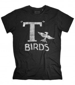 t-birds t-shirt uomo ispirata al film musical grease