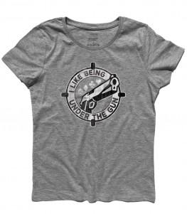 under the gun t-shirt donna poker texas holdem