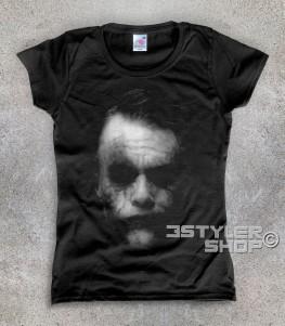 joker t-shirt uomo raffigurante il joker del Cavaliere Oscuro batman