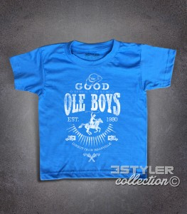 Good Ole Boys t-shirt bambino ispirata al film cult blues brothers