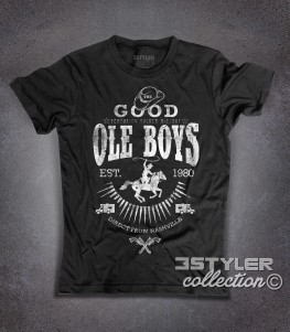 Good Ole Boys t-shirt uomo ispirata al film cult blues brothers