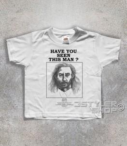 twin peaks t-shirt bambino raffigurante il ritratto fatto dalla polizia di killer bob