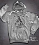 Arnold's felpa uomo hoodie ispirata al drive-in dove si riunivano i protagonisti di Happy Days