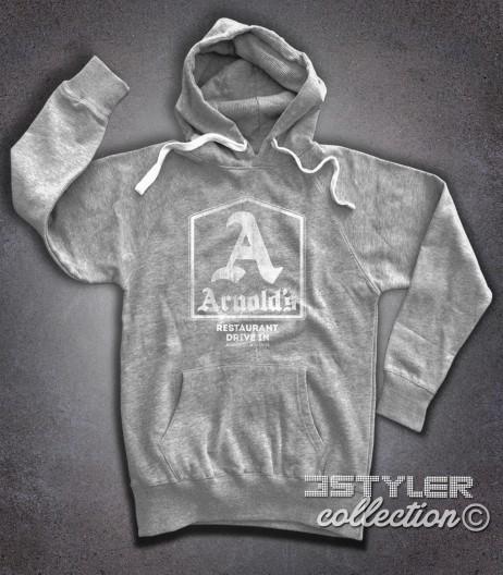 Arnold's felpa uomo hoodie