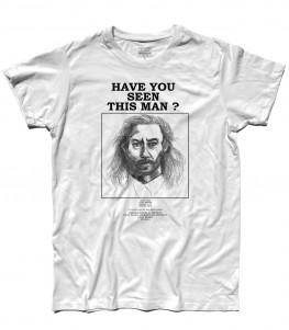 twin peaks t-shirt uomo raffigurante il ritratto fatto dalla polizia di killer bob